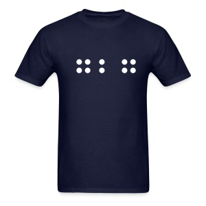 727 in BRAILLE Tee - Choose your color! - Men's T-Shirt