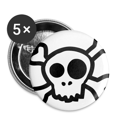 Skull Pin - Small Buttons