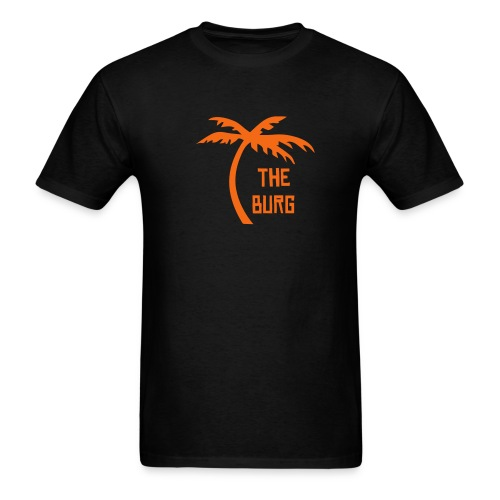 The Burg Palm Tree Tee - Choose your own color! - Men's T-Shirt