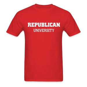 REPUBLICAN UNIVERSITY - Men's T-Shirt