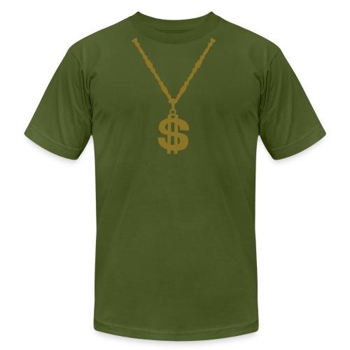 gangsta - Men's Fine Jersey T-Shirt