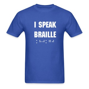 I Speak Braille - Men's T-Shirt