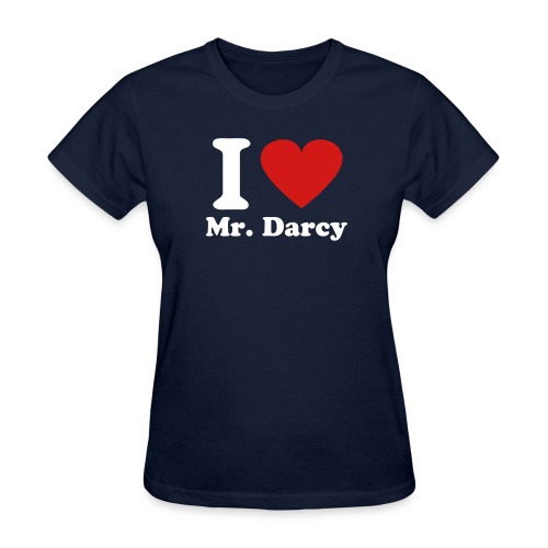 I Heart Mr. Darcy - Women's T-Shirt