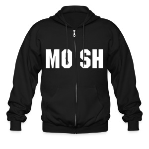mosh sweatshirt black - Men's Zip Hoodie