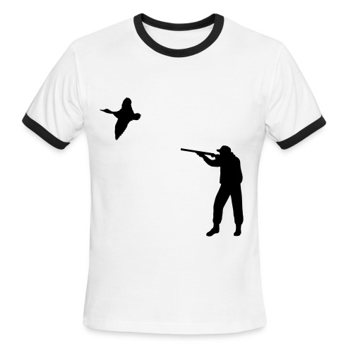 Duck Hunting - Men's Ringer T-Shirt