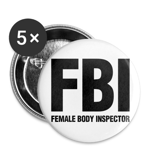 Female Body Inspector - Large Buttons