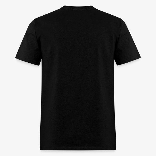 YellowIbis.com 'Chemical Structures' Men's / Unisex Standard T-Shirt: Ethanol (Black)