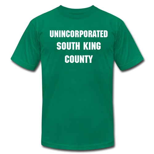 Unincorporated South King County - Men's  Jersey T-Shirt