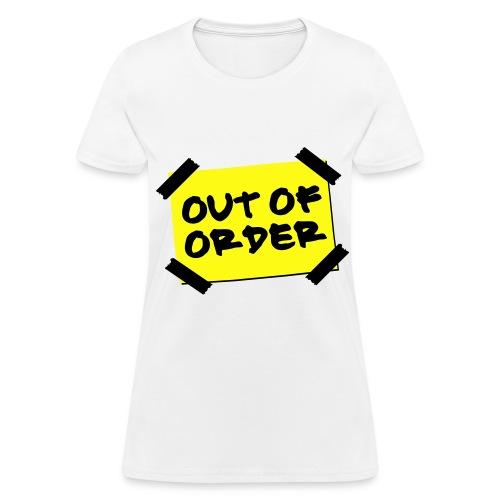 Womans White T-Shirt - Women's T-Shirt