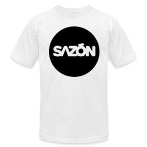 SAZON Logo - Men's Fine Jersey T-Shirt