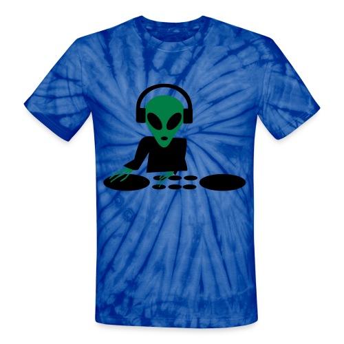 DJ ALIEN - Unisex Tie Dye T-Shirt