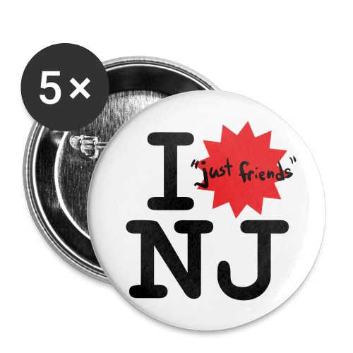 I just friends NJ Buttons - Buttons small 1'' (5-pack)