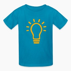 Kelly green Bulb Kids' Shirts