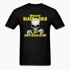 Black Bleed Black and Gold T-Shirts