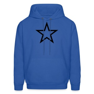 Men's Star Hooded Sweatshirt - Men's Hoodie