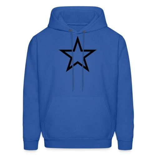 Men's Star Hooded Sweatshirt - Men's Hoodie
