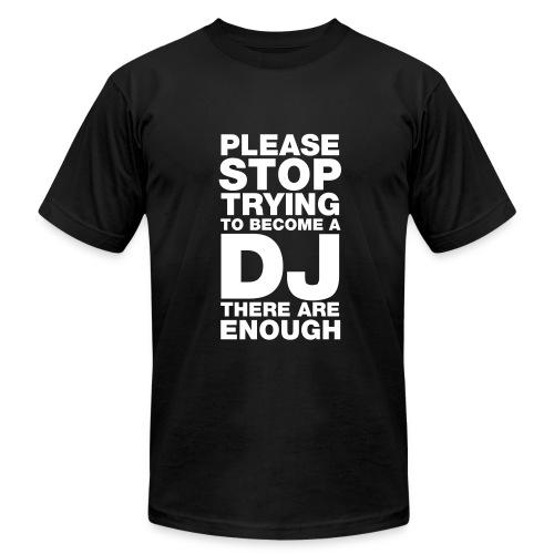 Stop DJ - Men's Fine Jersey T-Shirt