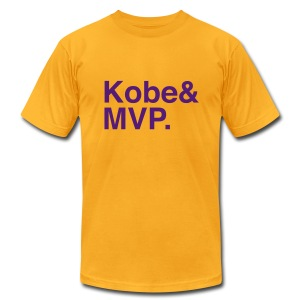 Lakers - Kobe MVP  - Men's T-Shirt by American Apparel
