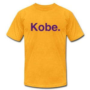 Lakers - Kobe - Men's T-Shirt by American Apparel