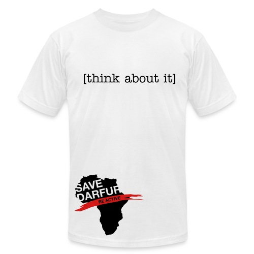 think about it - Men's  Jersey T-Shirt