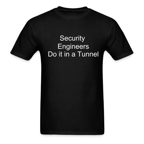 Security Engineers - Men's T-Shirt