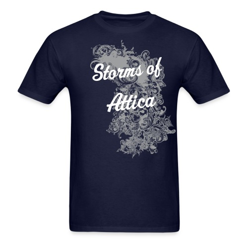 Storms of Attica Dust Tee - Men's T-Shirt