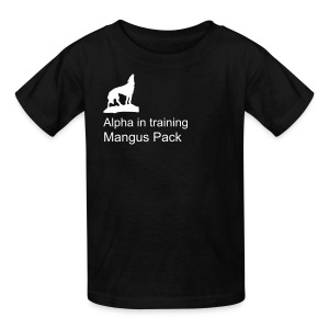 Mangus in training - Kids' T-Shirt