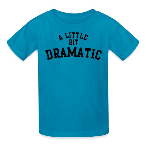 Dramatic shirt - Kids' T-Shirt