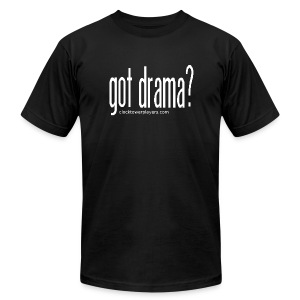 Gents Got Drama? Trouper Tee - Men's T-Shirt by American Apparel