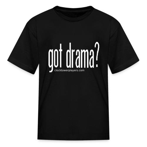 Kids Got Drama? Trouper Tee - Kids' T-Shirt