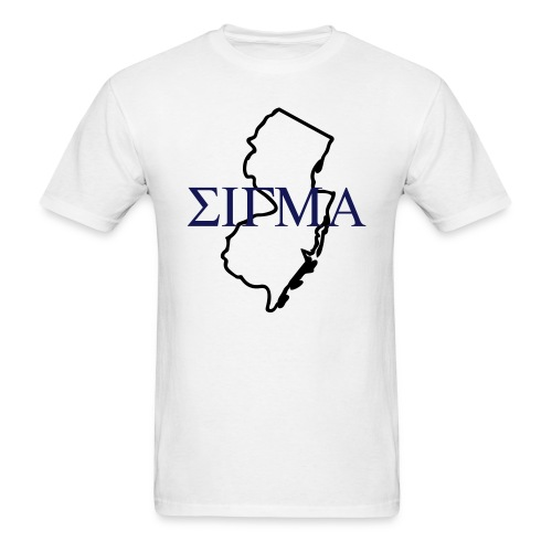 NJ Sigma - Men's T-Shirt