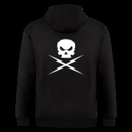 Hoodies ~ Men's Zip Hoodie ~ DEATH PROOF Sweatshirt Hoodie