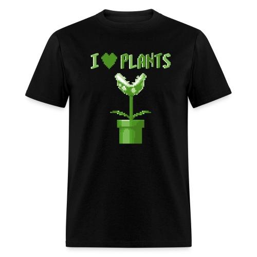 love plants t shirt homme noir - Men's T-Shirt