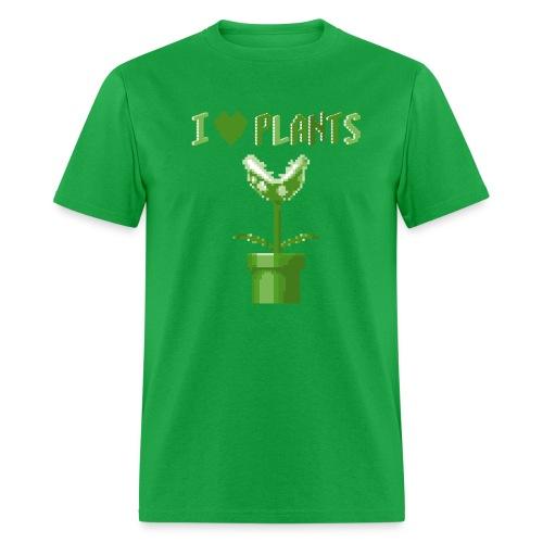 love plants t shirt homme vert - Men's T-Shirt