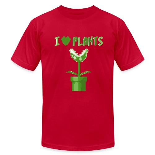 love plants t shirt homme aubergine - Men's Jersey T-Shirt