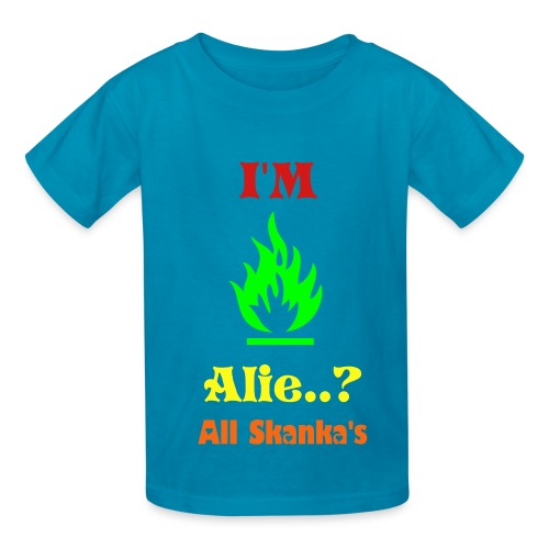 All Skanka's Boys HotFire T-shirt I - Kids' T-Shirt