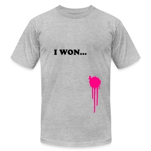 I WON... - Men's Fine Jersey T-Shirt