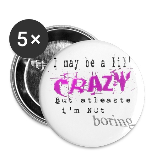 I~Crazy Button - Large Buttons