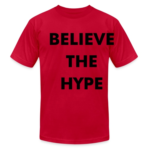 G Rob Believe The Hype Tee - Men's Fine Jersey T-Shirt