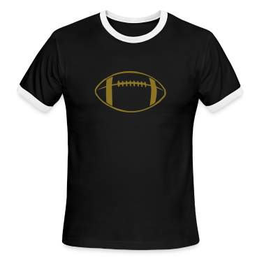 Black/white Football Teams T-Shirts