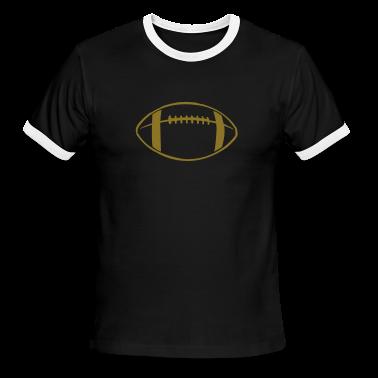Black/white Football Teams T-Shirts