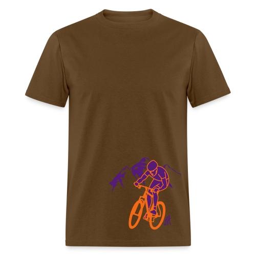 mordu du vélo - Men's T-Shirt