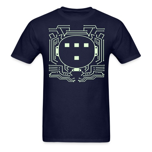 GLOW IN THE DARK - TRON Costume T-Shirt - Men's T-Shirt