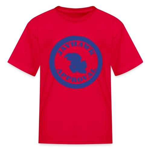 Jayhawk Approval Kid's Tee - Kids' T-Shirt