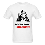 T-Shirts ~ Men's T-Shirt ~ BOOM POW SURPRISE
