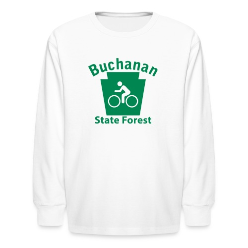 Buchanan State Forest Keystone Biker - Kids' Long Sleeve T-Shirt