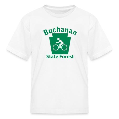 Buchanan State Forest Keystone Biker - Kids' T-Shirt