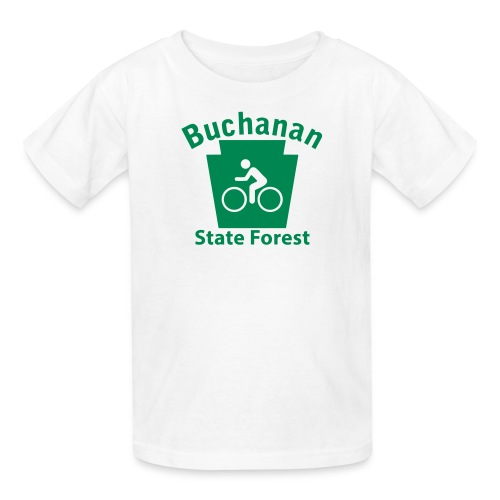 Buchanan State Forest Keystone Biker - Kids' T-Shirt