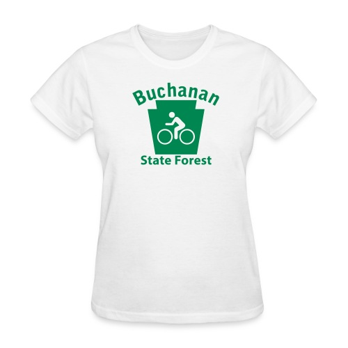 Buchanan State Forest Keystone Biker - Women's T-Shirt