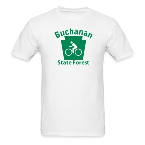 Buchanan State Forest Keystone Biker - Men's T-Shirt